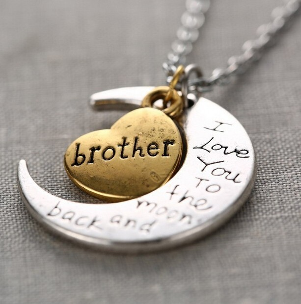 Ketting Love You Brother